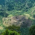 Boqueroncito cinder cone in Boqueron volcano