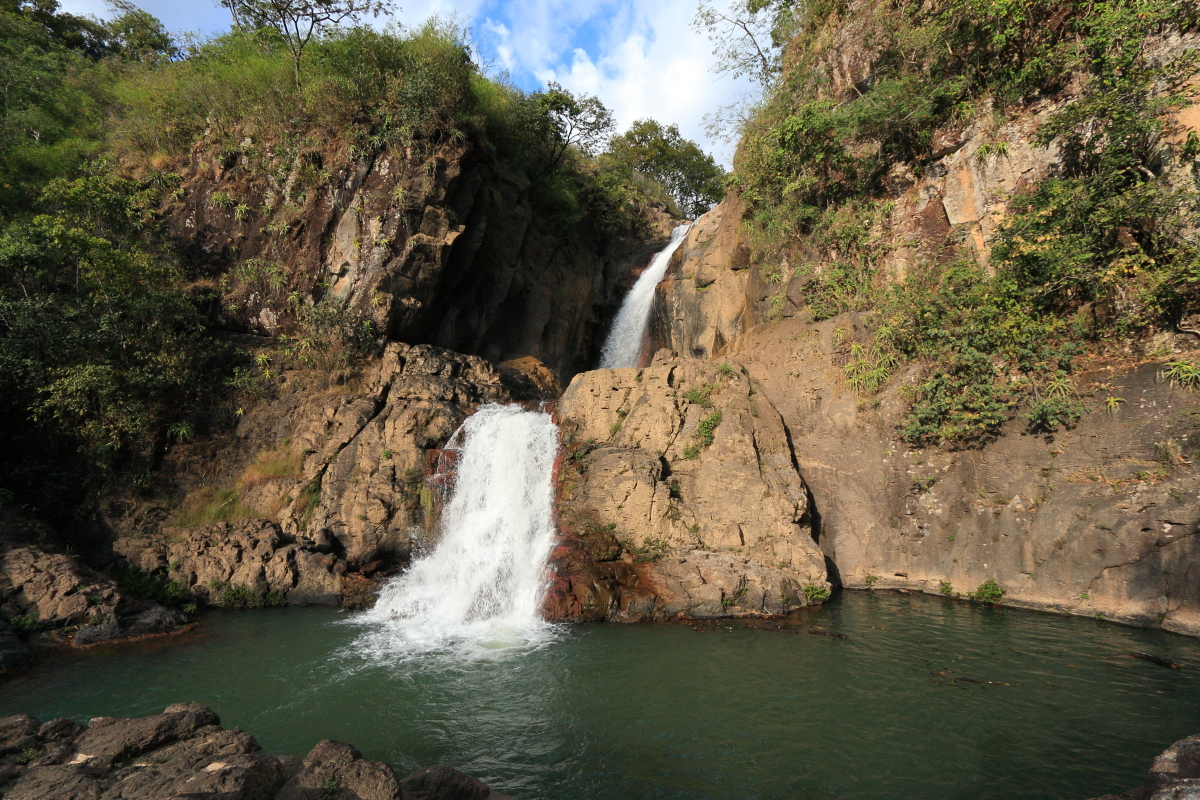 Double waterfall, Perquin