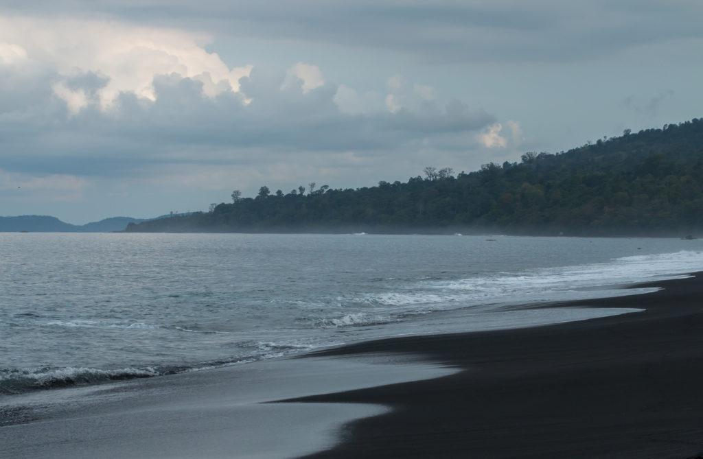 Tangkoko National Park beach