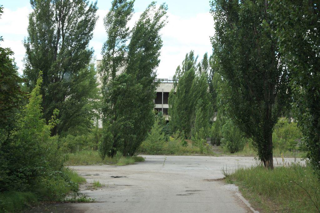 Approaching Pripyat