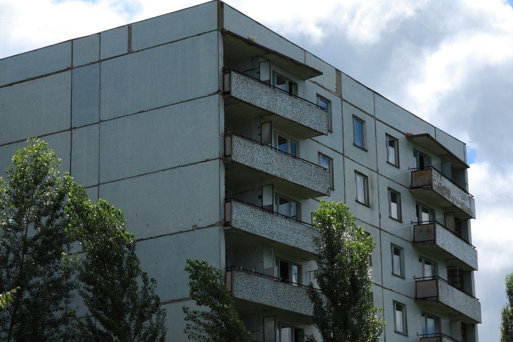 Old building, Chernobyl