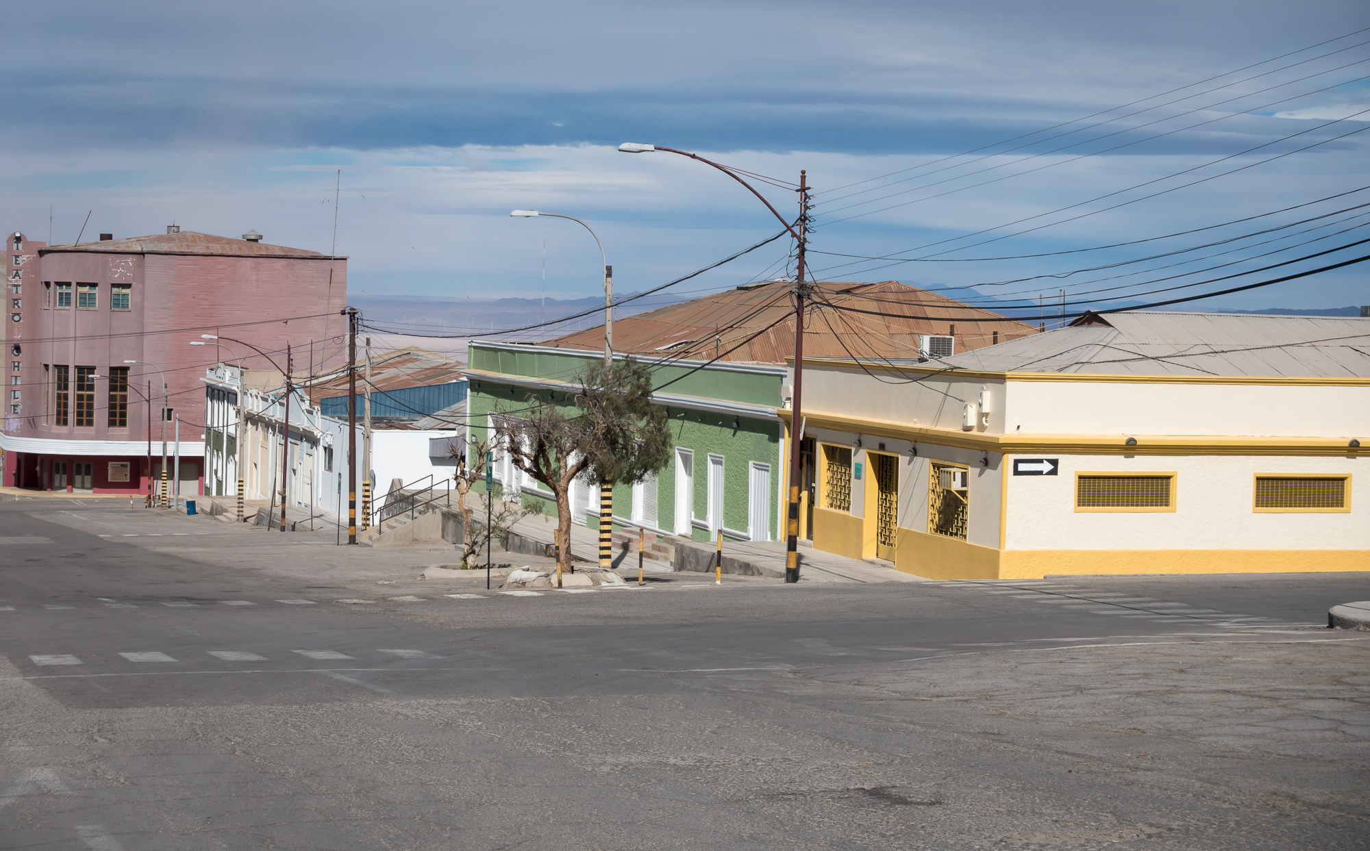 Visiting Chuquicamata ghost town and mine