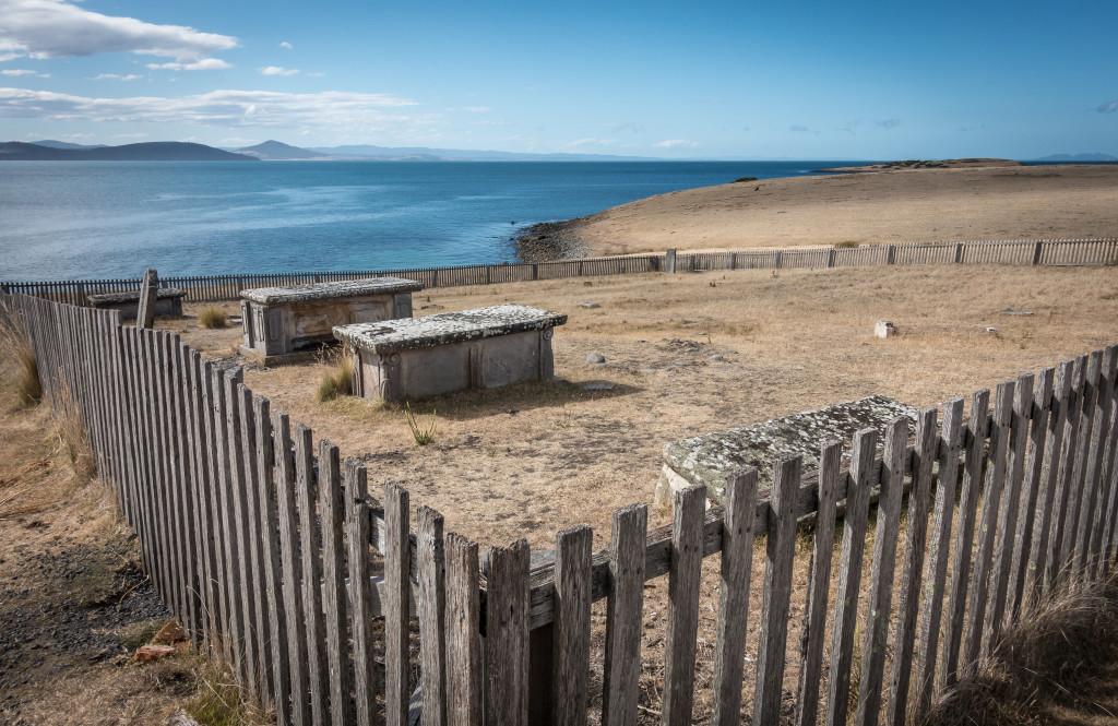 Graveyard on Maria Island