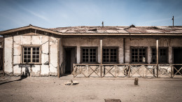 Humberstone abandoned buildings