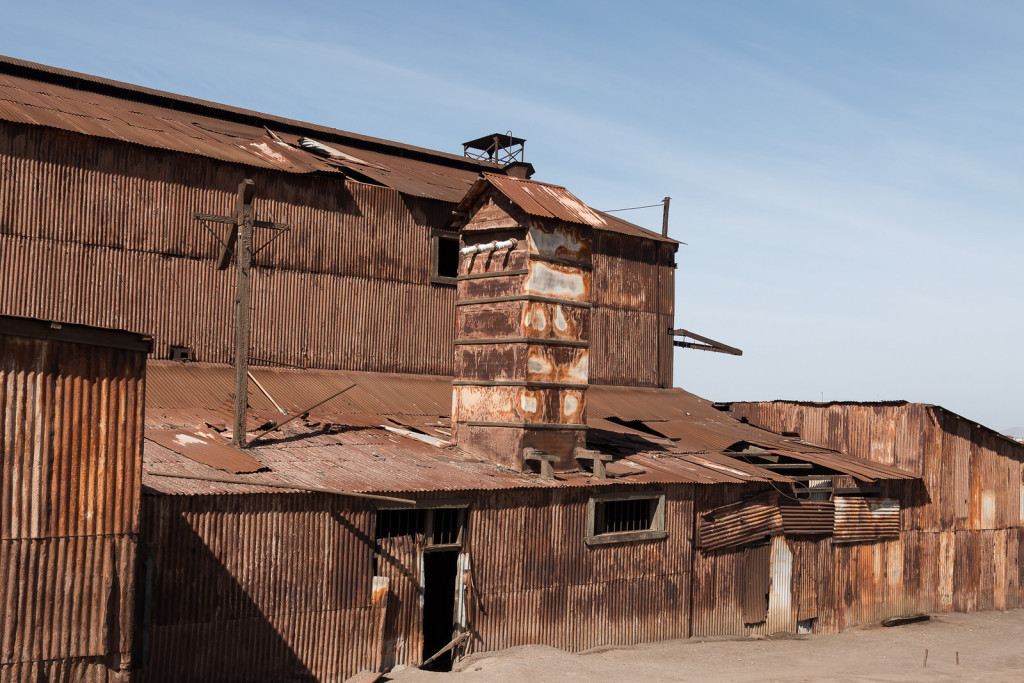 Industrial area of Humberstone ghost town