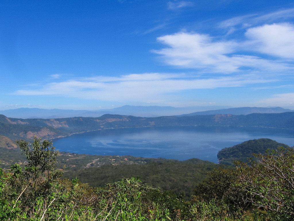 View of Lago Coatepeque