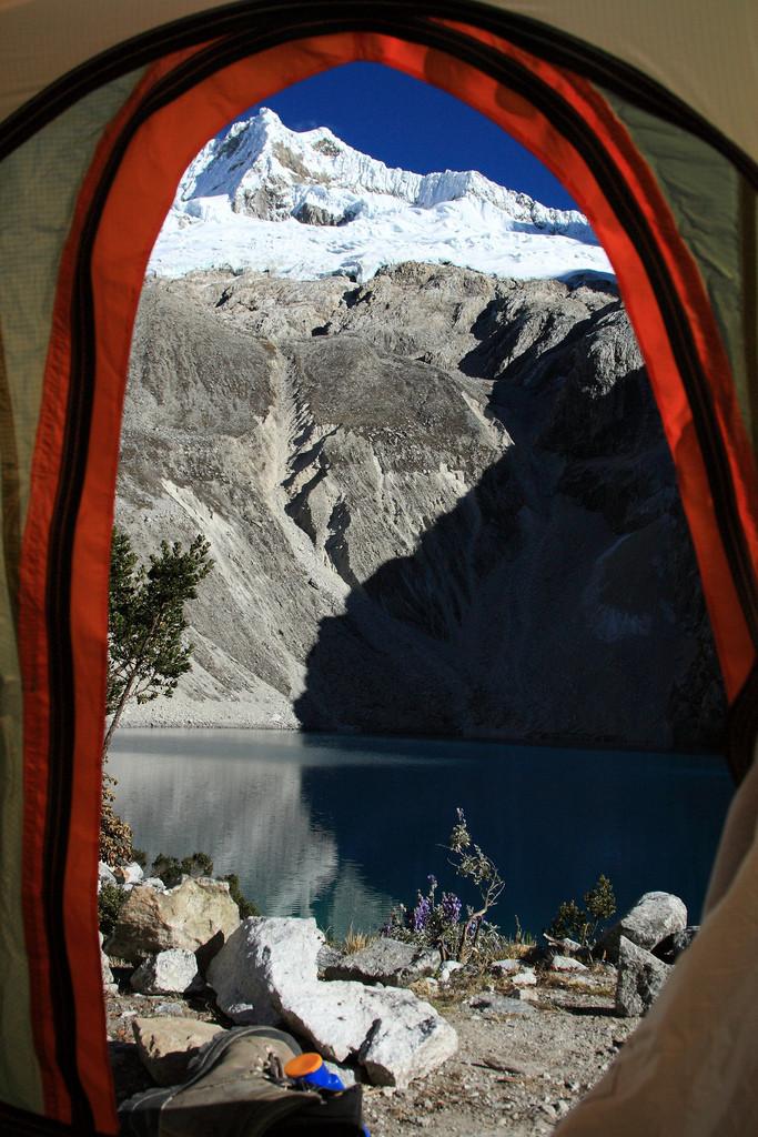 Tent at Laguna 69