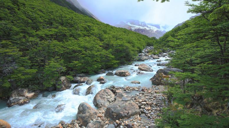 Rio del Diablo, Patagonia, Argentina