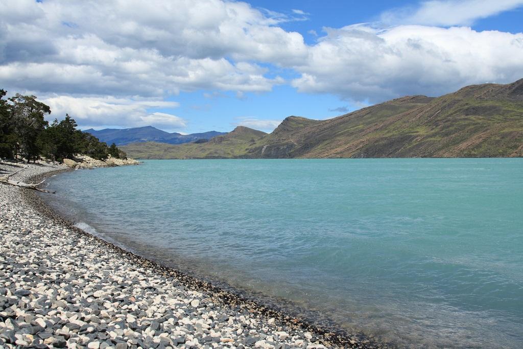 Lago Nordenskjold, glacial lake