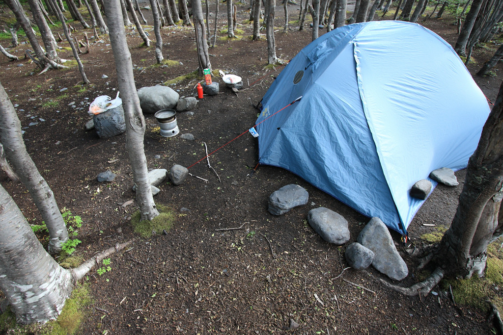 Los Perros campsite, Torres del Paine
