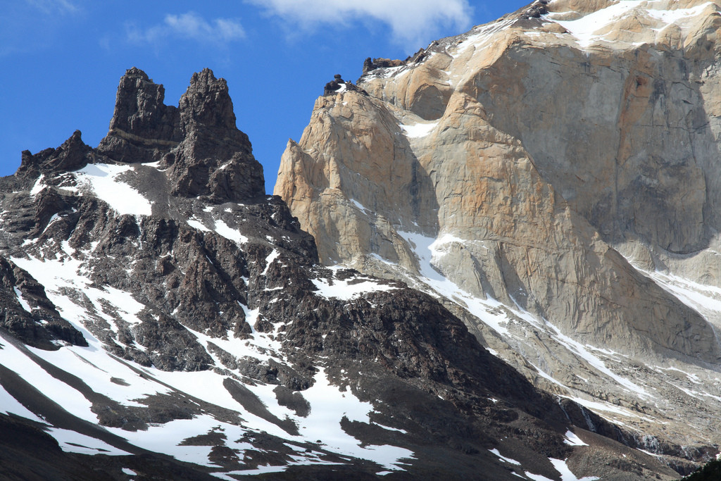 Mountains in Torres del Paine