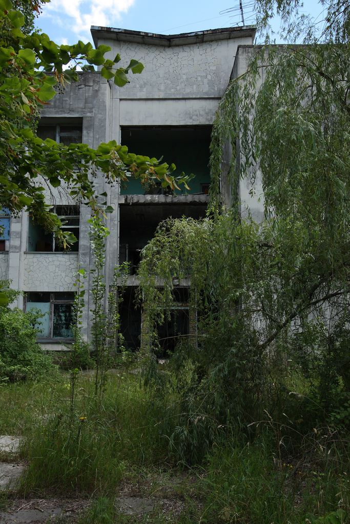 Pripyat abandoned buildings