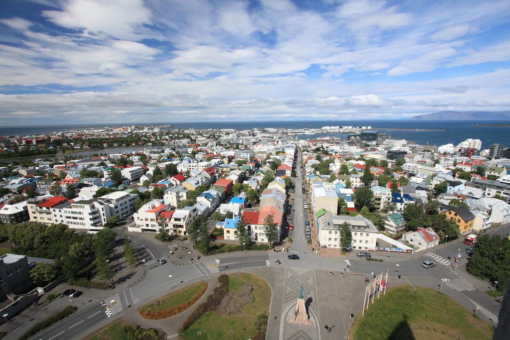 View over Reykjavik from Hallgrimskirkja