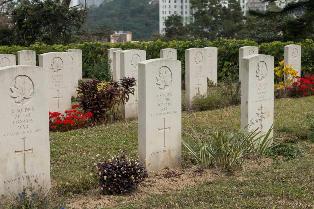 Unknown Canadians, Sai Wan cemetery