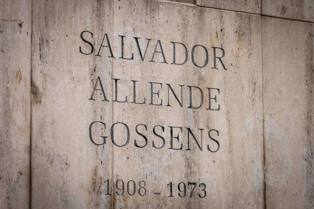 Salvador Allende grave