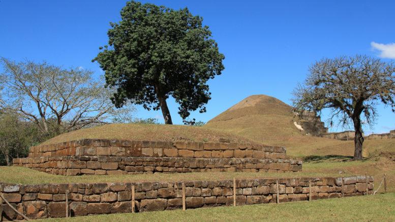Mayan ruins in El Salvador