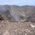 San Miguel summit crater