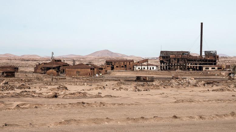 Abandoned Santa Laura town