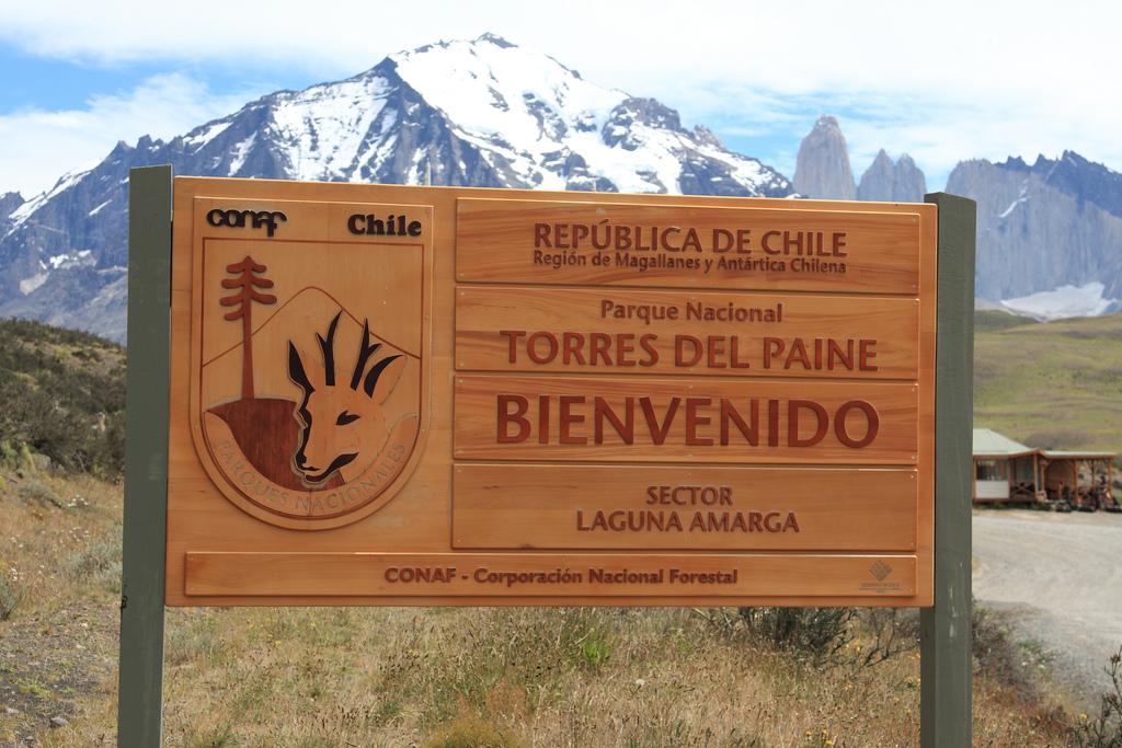 Torres del Paine park entrance