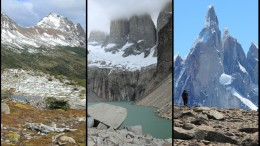 Patagonian landscapes, mountains, and glaciers