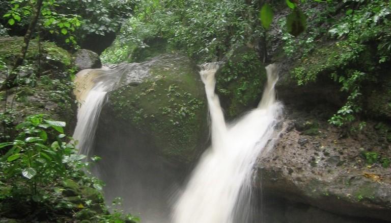 Waterfall in El Imposible