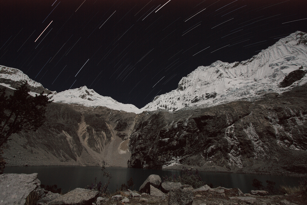 Laguna 69 star trails