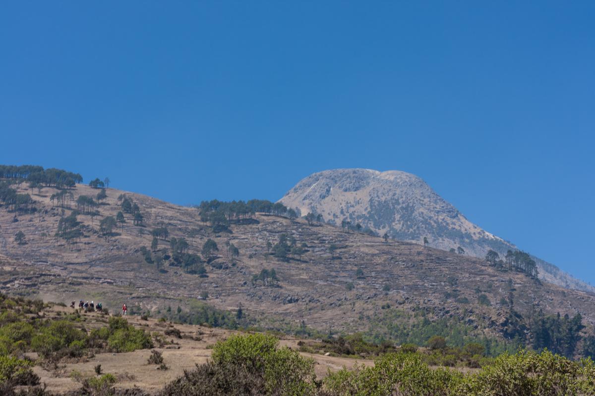 Tajumulco volcano, Guatemala