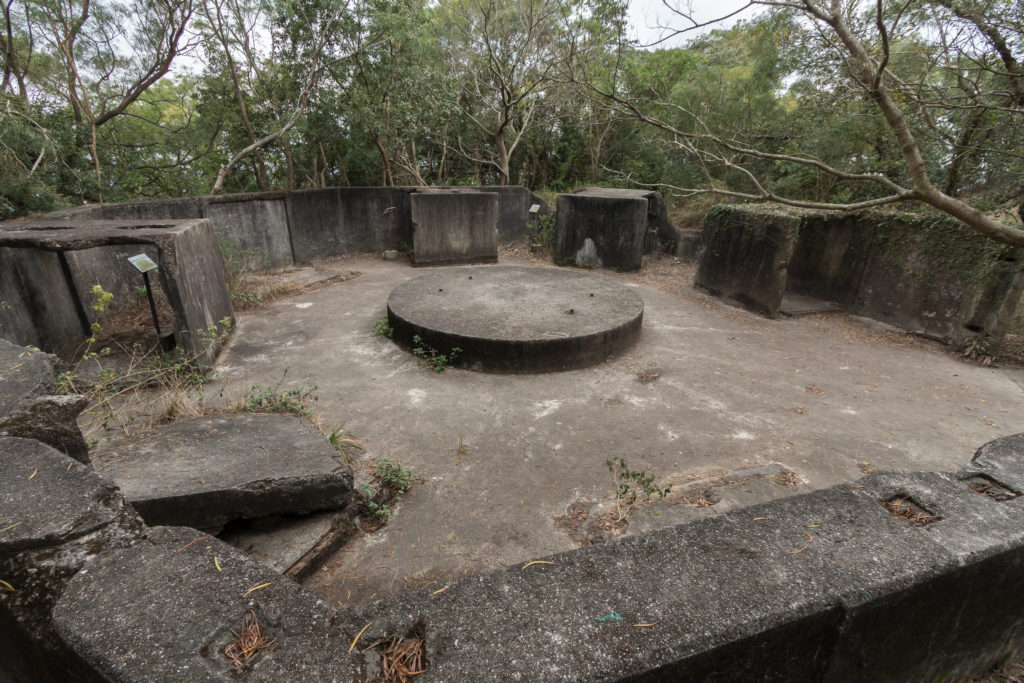Abandoned Pinewood Battery, Hong Kong