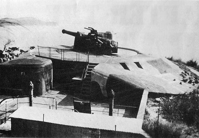 Mount Davis battery 1941-1945