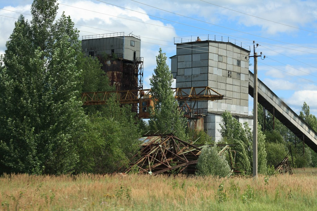 Abandoned factory building, Chernobyl
