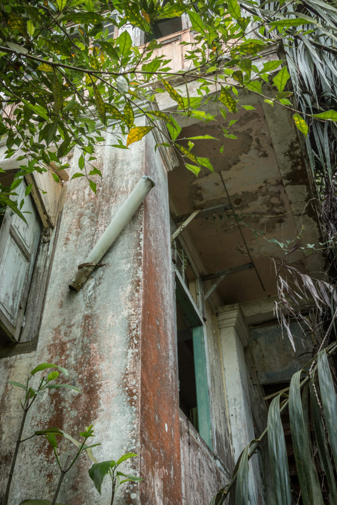 Abandoned house on Penang Hill