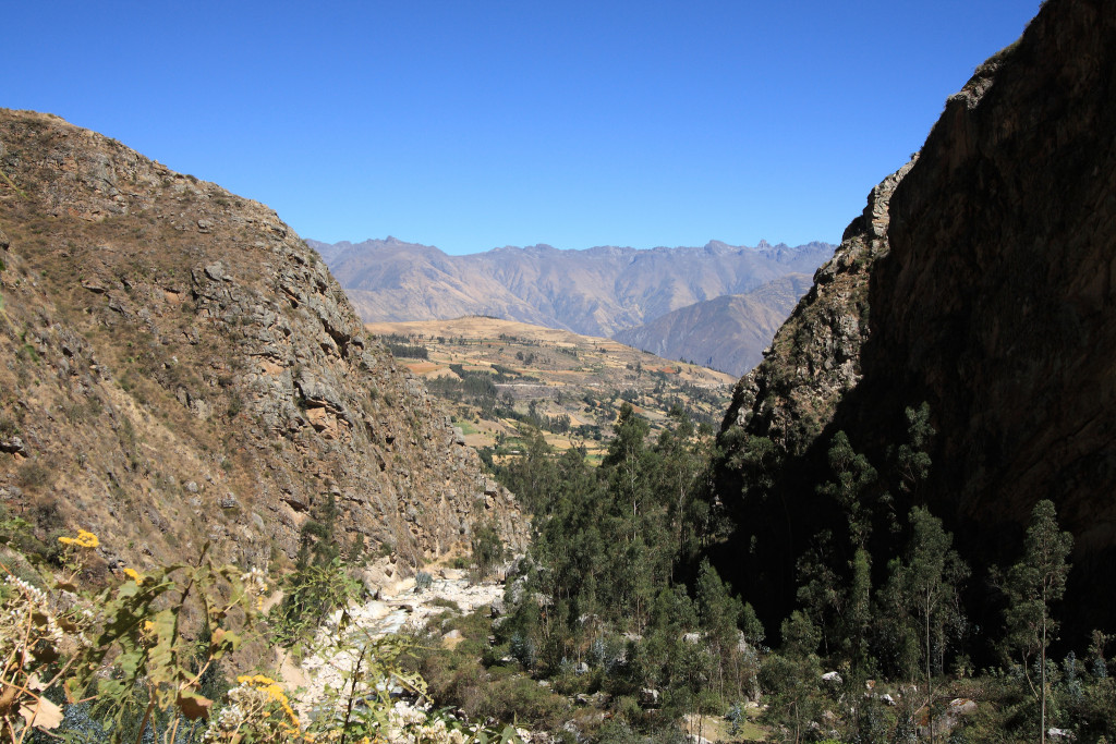 Trail to Cashapampa