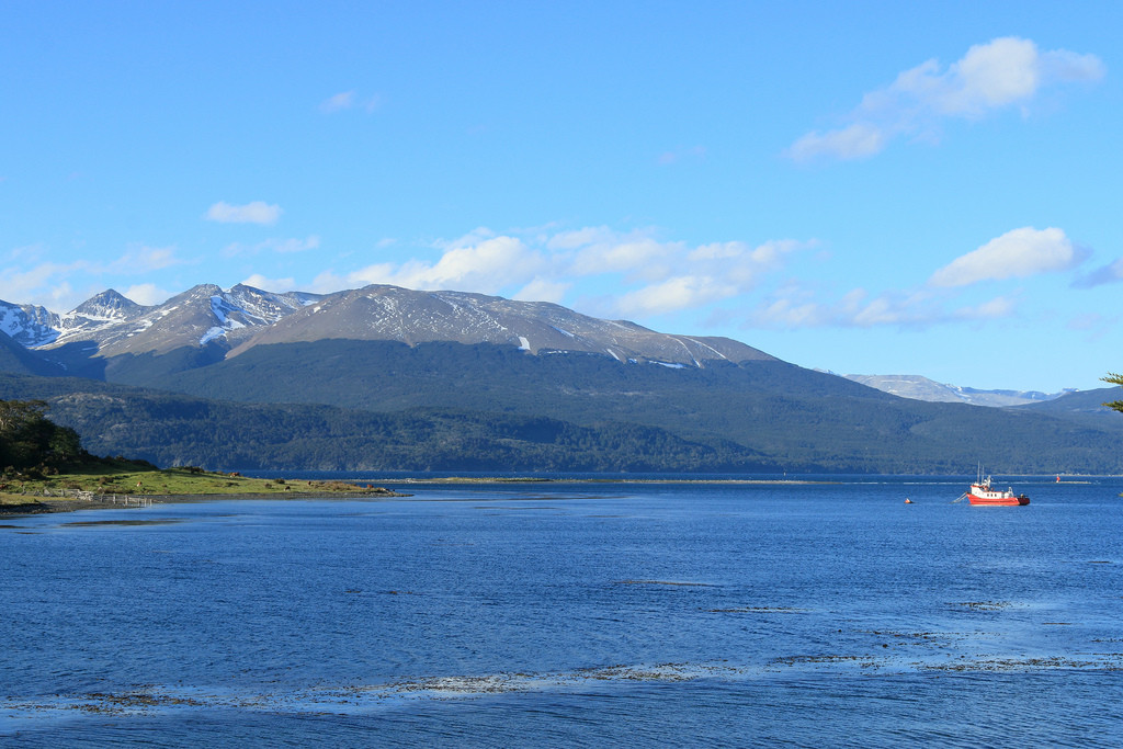 Beagle channel and Argentina