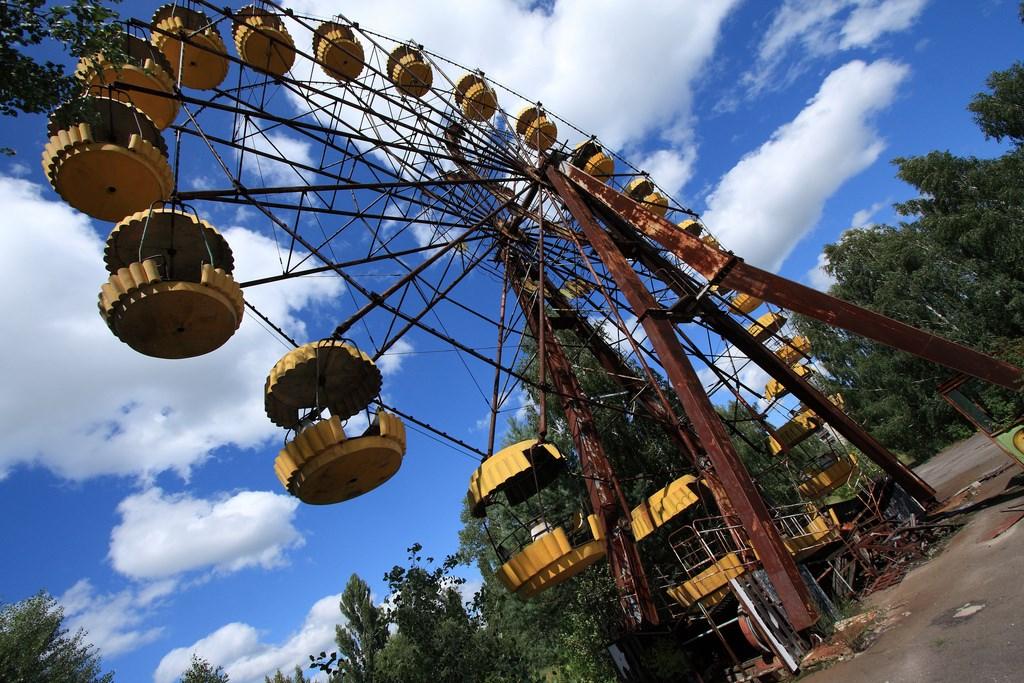 Abandoned ferris wheel, Chernobyl