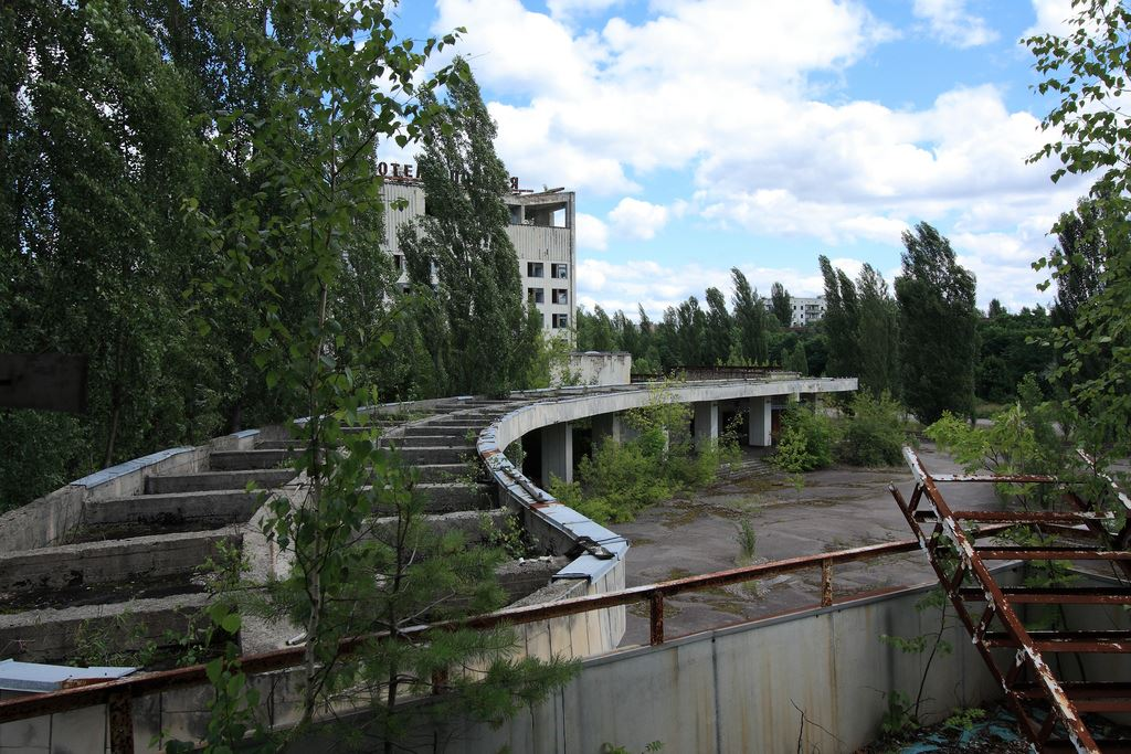 Abandoned buildings in Pripyat