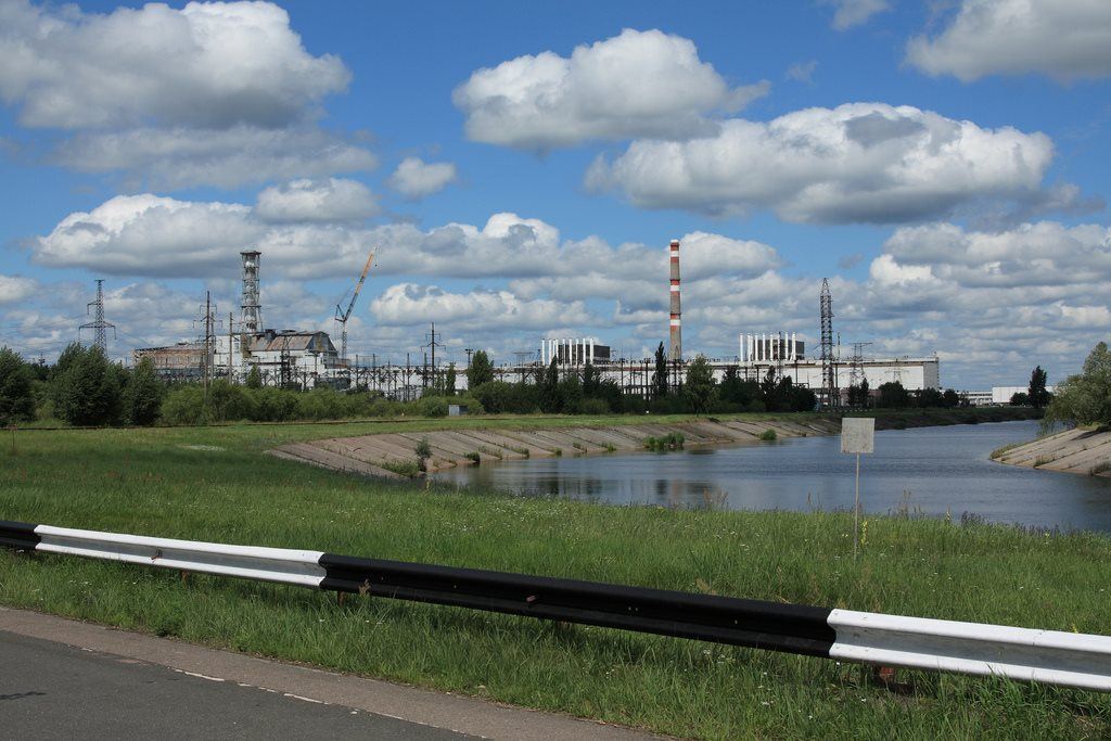 Chernobyl reactors 1, 2, and 4