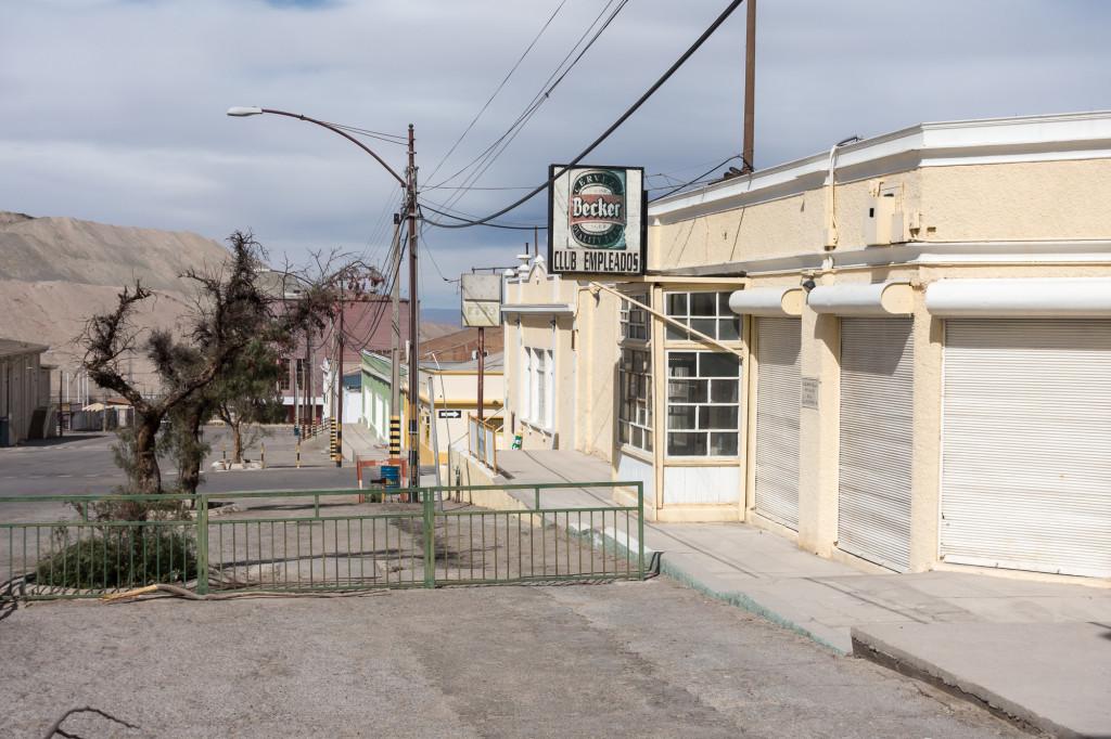 Chuquicamata ghost town