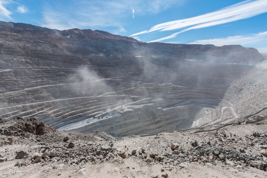 Chuquicamata copper mine, Calama, Chile