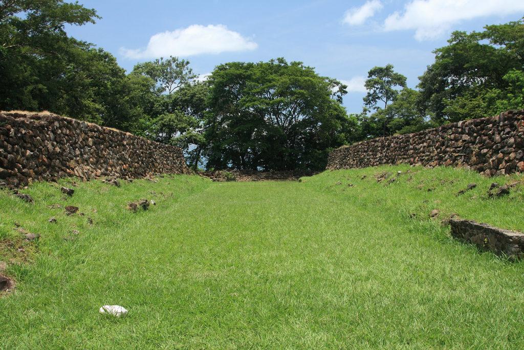 Cihuatan Mayan ruins in El Salvador