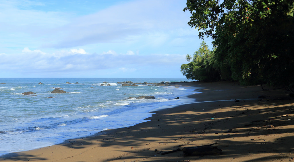 Beach in Corcovado National Park