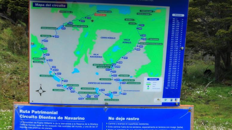 Dientes de Navarino map