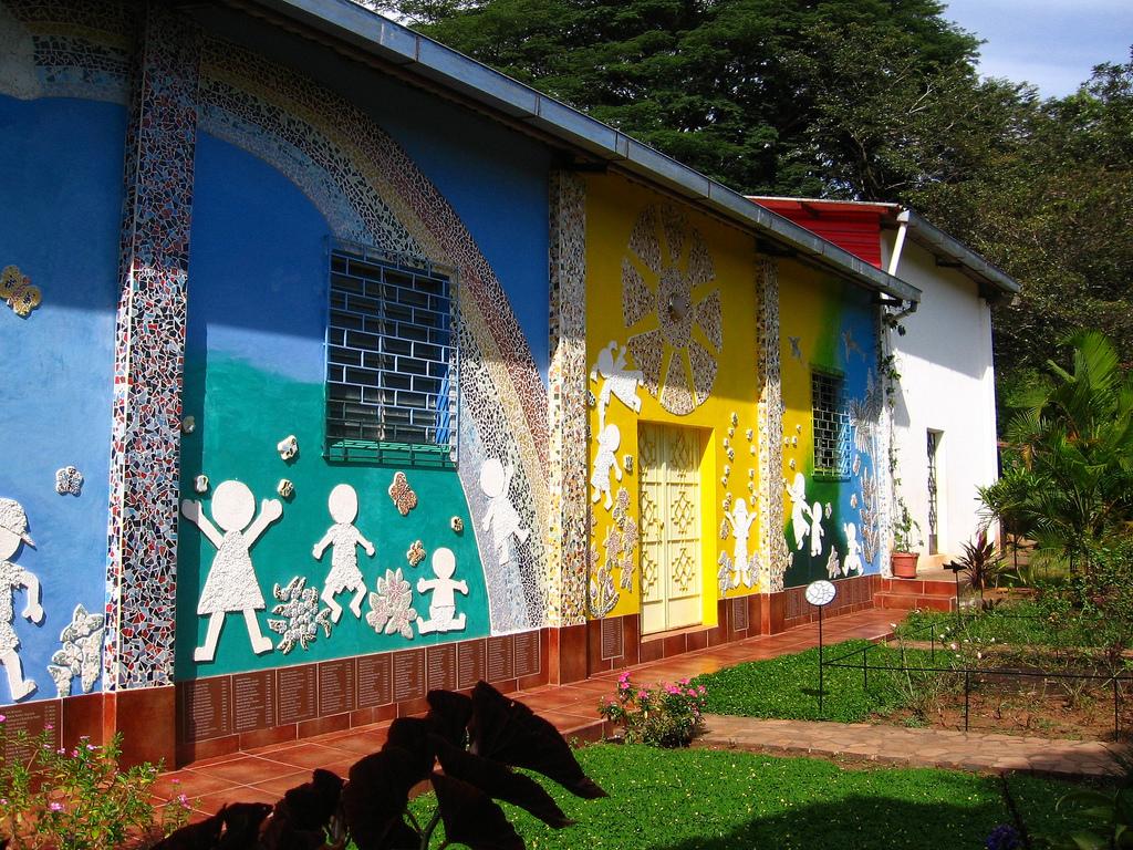 Children's memorial garden, El Mozote,