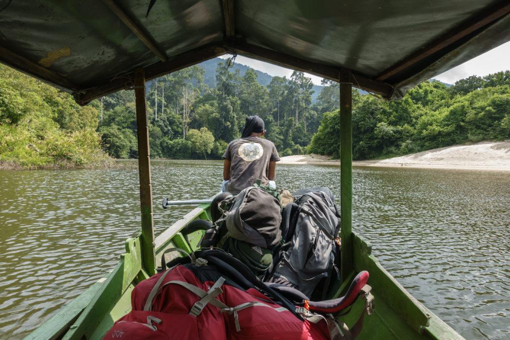 Boat trip to Endau Rompin