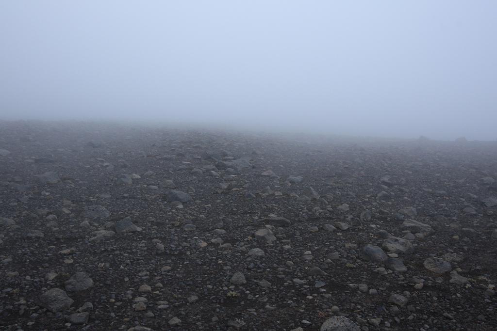 Hiking across Morinsheiði plateaMorinsheiði plateau, Fimmvorduhals trail