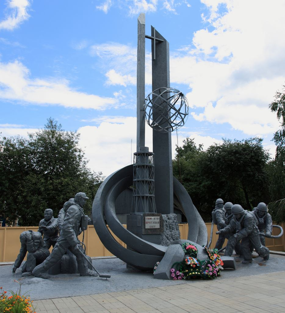 Chernobyl firefighters memorial