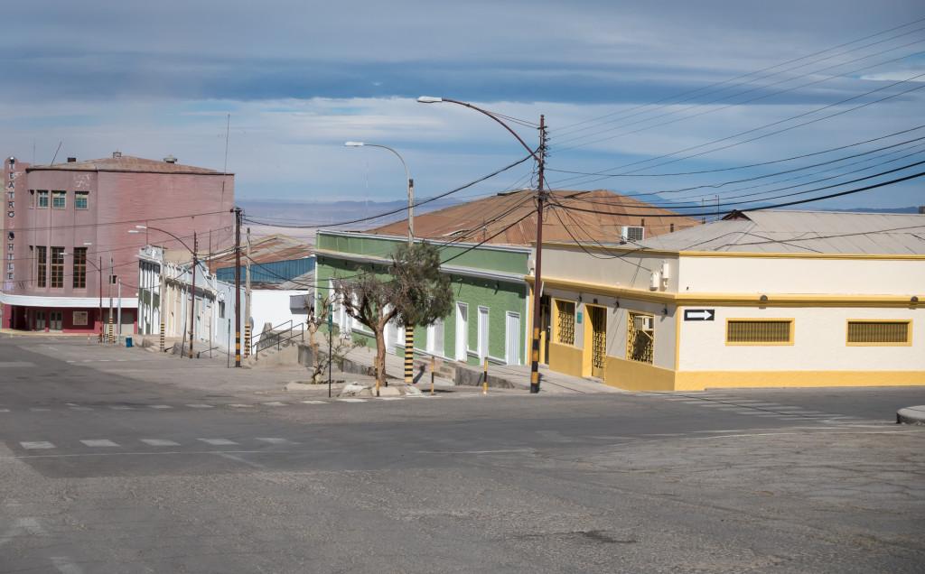 Chuquicamata abandoned town