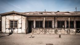 Humberstone abandoned buildings