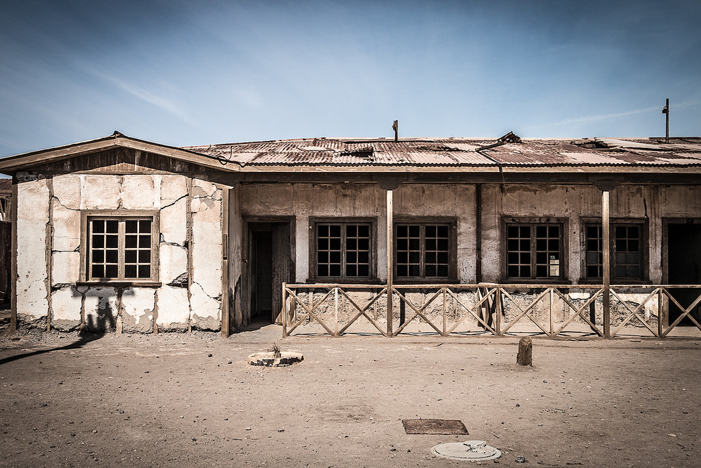 Humberstone ghost town, Chile