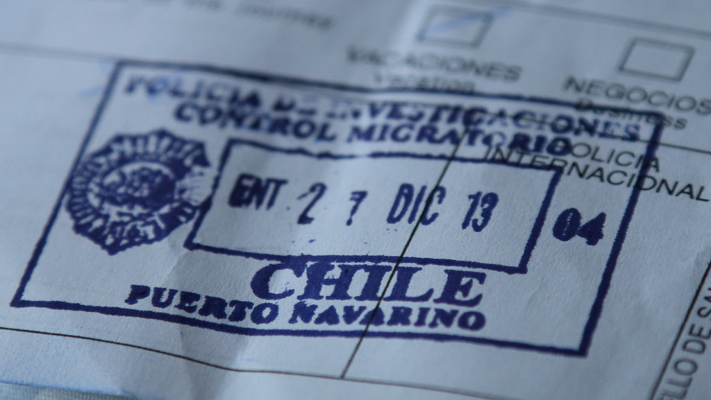 Isla Navarino immigration stamp