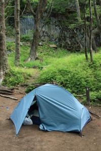 Camping at Las Guardas, Torres del Paine
